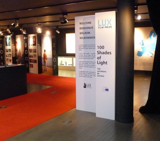 Prix Lux du Cinéma du Parlement européen - 10 ans<br> Exposition au Parlamentarium